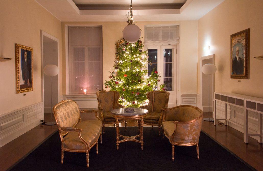 Stenbocki maja jõulukuusk 2018